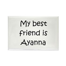 Cool Ayanna Rectangle Magnet