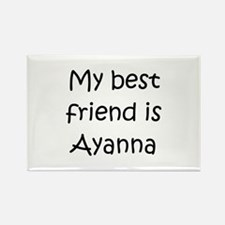 Cute Ayanna Rectangle Magnet