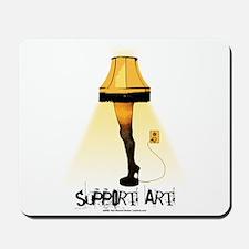 Support Art! Mousepad