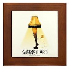 Support Art! Framed Tile