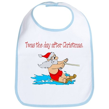 Twas The Day After Christmas Bib
