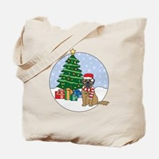 Leonberger Christmas Tote Bag
