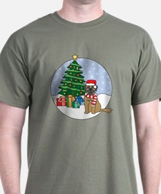 Leonberger Christmas T-Shirt