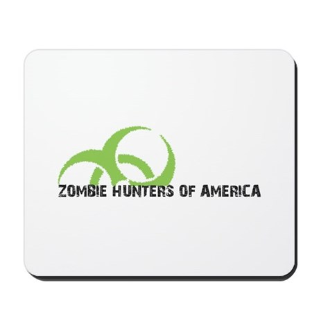 Zombie Hunters of America Mousepad
