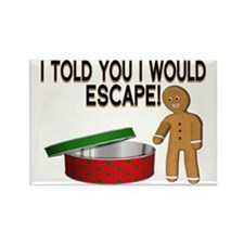 Cookie Escape Rectangle Magnet
