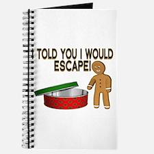 Cookie Escape Journal