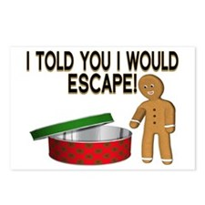 Cookie Escape Postcards (Package of 8)
