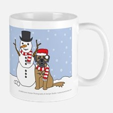 Leonberger Winter Mug