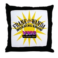 Frank & Wanda Throw Pillow