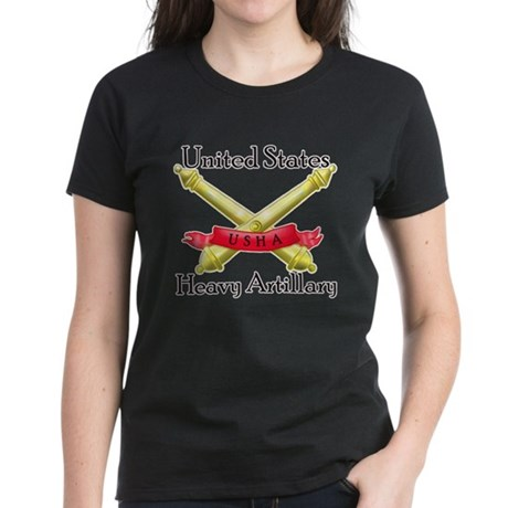 United States Heavy Artillery Women's Dark T-Shirt