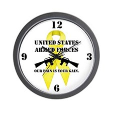 Armed Forces, Pain & Gain (Ye Wall Clock