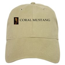 Cool Coral mustang Baseball Cap