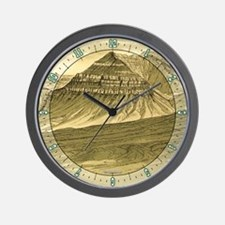 Vulcans Throne 1882 Wall Clock