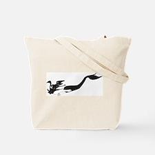 Diving Mermaid  Tote Bag