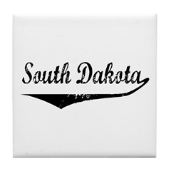 South Dakota Tile Coaster