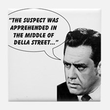 Perry Mason Tile Coaster