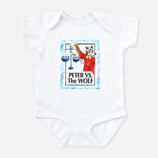 Peter VS the Wolf Infant Bodysuit