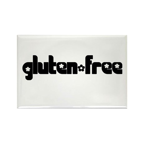 gluten-free (chick) Rectangle Magnet (10 pack)