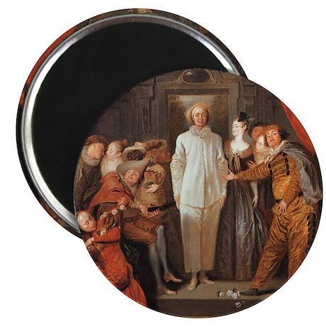 Italian Comedians by Watteau