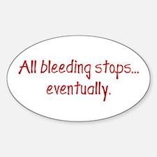 EMT, Doctor, Nurse Oval Sticker (10 pk)
