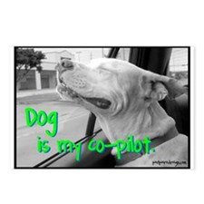 Dog is My Co-Pilot - Postcards (Package of 8)
