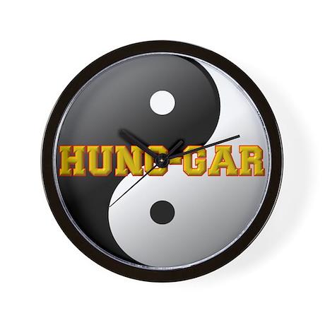 Hung Gar Yin Yang Wall Clock