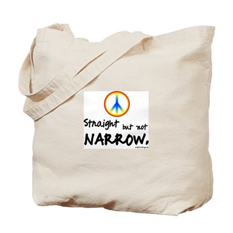 Straight but Not Narrow - Tote Bag