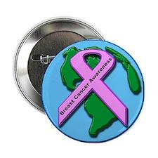 "Breats cancer awareness 2.25"" Button (10 pack)"