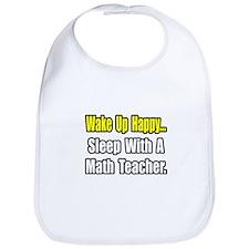 """Sleep With a Math Teacher"" Bib"