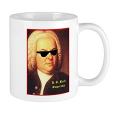 JS Bach, Superstar Mug