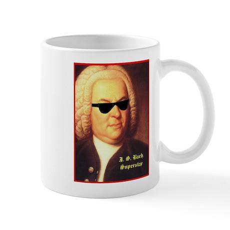 JS Bach, Superstar Mug