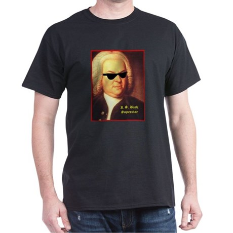 JS Bach, Superstar Dark T-Shirt