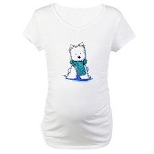 Fuzzy Scarf Westie Shirt