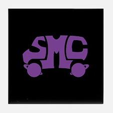 Purple SMC Van Logo Tile Coaster