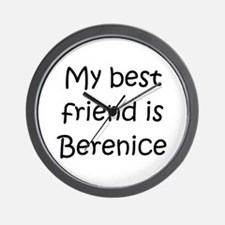 Funny Berenice Wall Clock