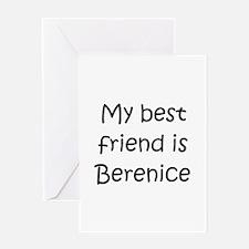 Funny Berenice Greeting Card
