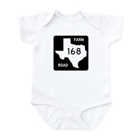 Farm-to-Market Road 168. Texas Infant Bodysuit