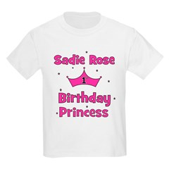 1st Birthday Princess Sadie R T-Shirt