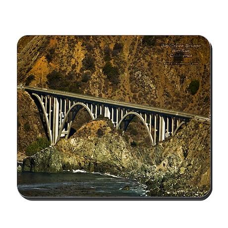 Big Sur Bridge 2 Mousepad