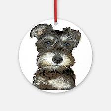 Puppy Ornament (Round)