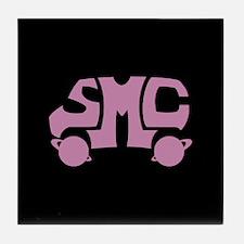 Pink SMC Van Logo Tile Coaster