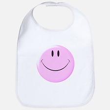 Smiley Face Baby Bib