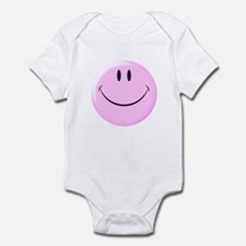 Smiley Face Infant Bodysuit