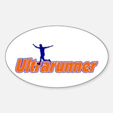 Ultrarunner Oval Decal