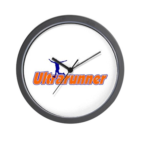 Ultrarunner Wall Clock