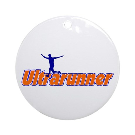 Ultrarunner Ornament (Round)