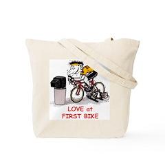 RacerMate Tote Bag