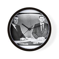 Nixon Vs Kennedy Debate Wall Clock