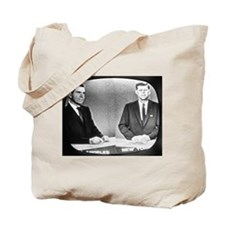Nixon Vs Kennedy Debate Tote Bag