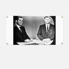 Nixon Vs Kennedy Debate Banner